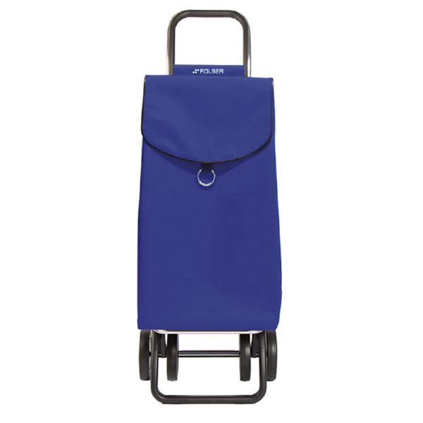 Carro compra PEP011 MF plegable. Color azul.