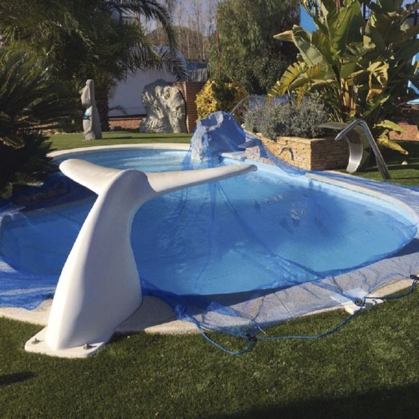 Protector piscinas LEAF POOL COVER 6X6 M