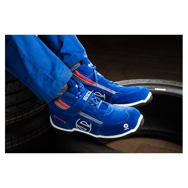 SPARCO RACING HIGH S3 B3 AZUL T42